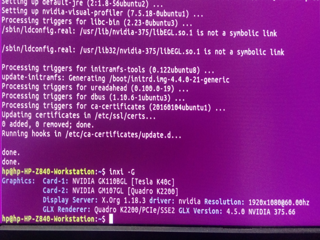 How to manually install Nvidia Driver and cuda in ubuntu linux