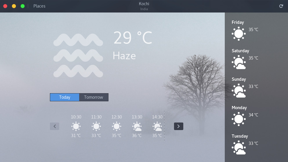 Changing weather from Fahrenheit to Centigrade in gnome