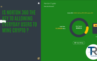 Is Norton 360 the key to Allowing Everyday Users to mine Crypto ?