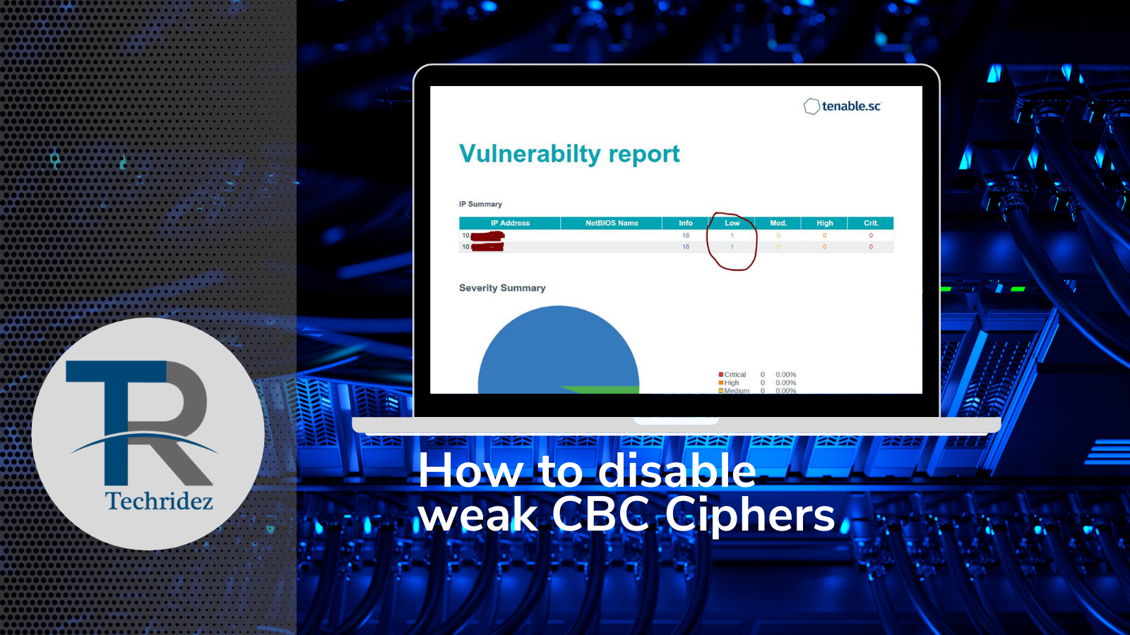 How to disable weak CBC Ciphers
