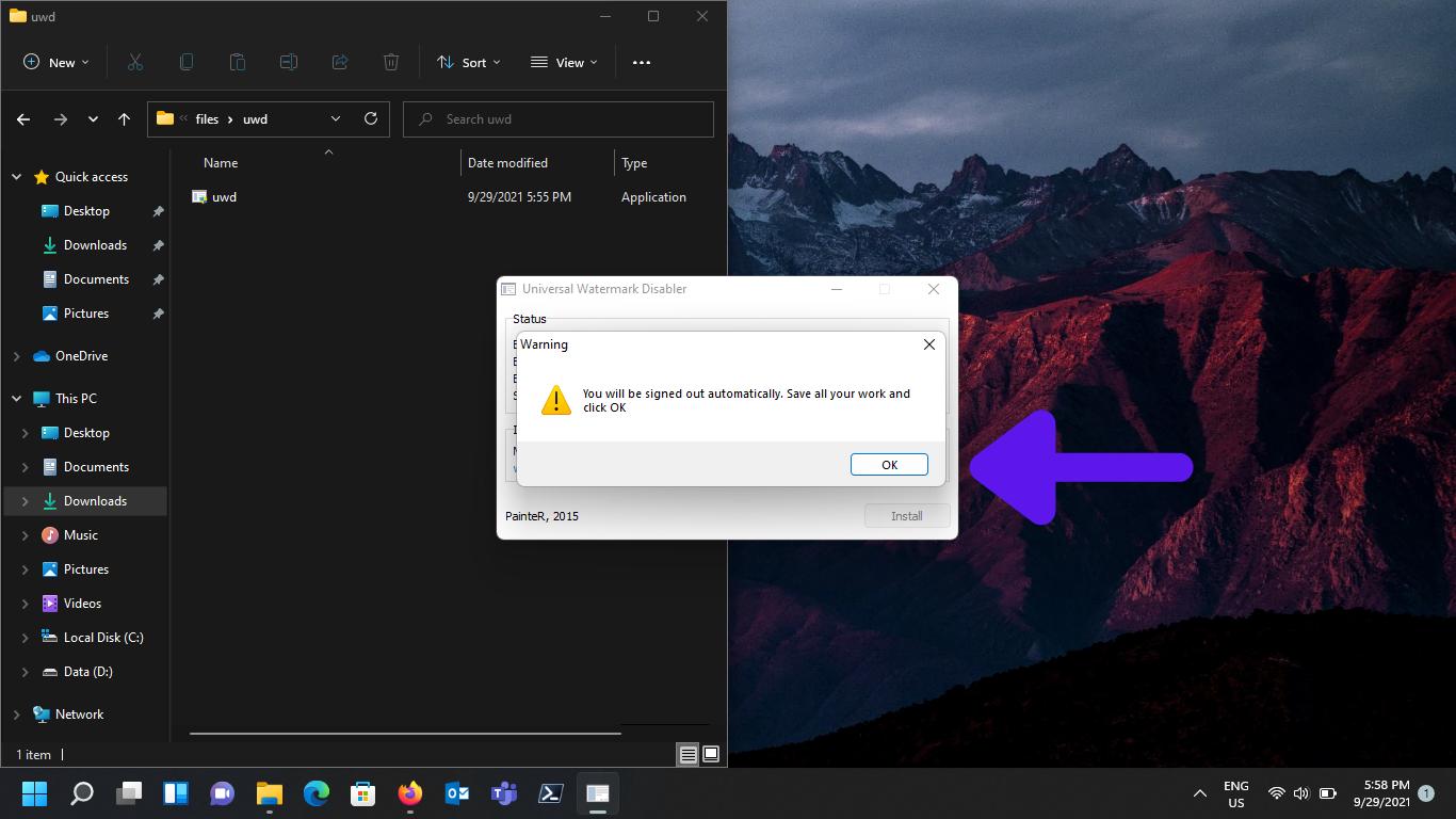 How to remove Windows Watermark pics (4)